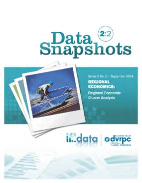 Data Snapshots 2.2 - Regional Economics: Regional Economic Cluster Analysis