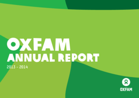Oxfam Annual Report 2013-2014