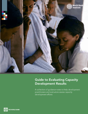 Guide to Evaluating Capacity Development Results