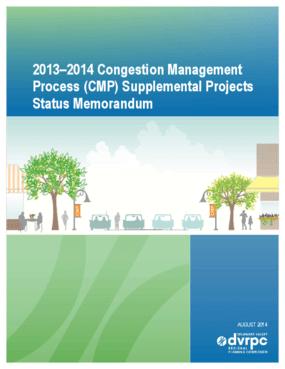 2013-2014 Congestion Management Process (CMP) Supplemental Projects Status Memorandum