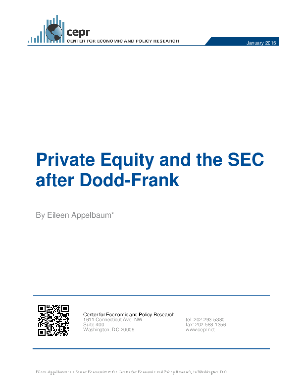 Private Equity and the SEC after Dodd-Frank