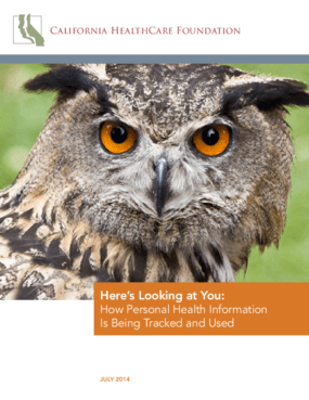 Here's Looking at You: How Personal Health Information is Being Tracked and Used