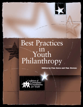Best Practices in Youth Philanthropy