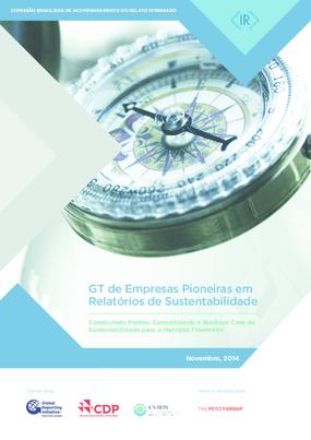 GT de empresas pioneiras em relatórios de sustentabilidade