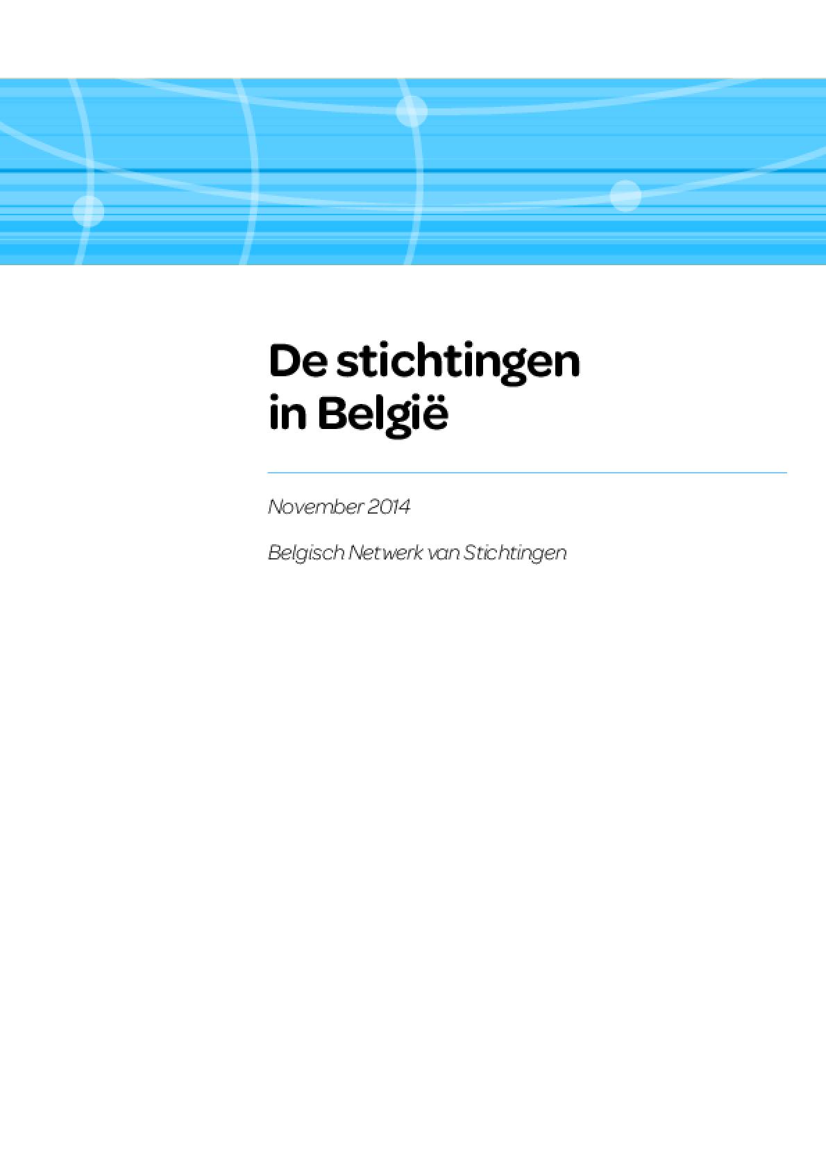De Stichtingen in België