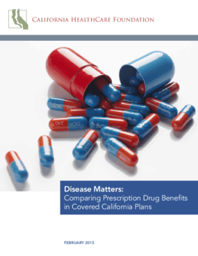 Disease Matters: Comparing Prescription Drug Benefits in Covered California Plans