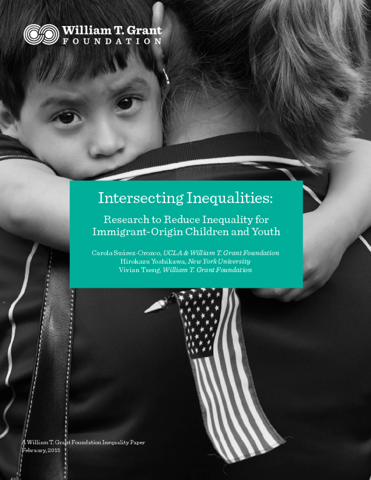 Intersecting Inequalities: Research to Reduce Inequality for Immigrant-Origin Children and Youth