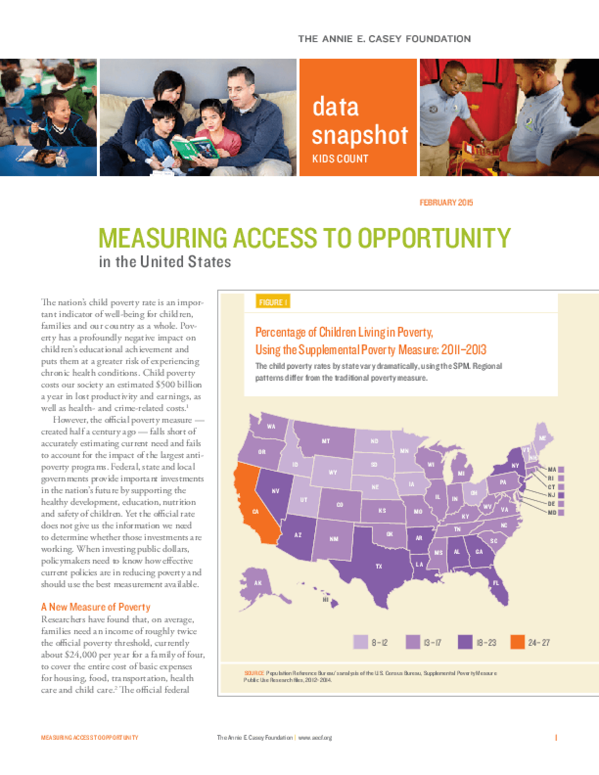 Measuring Access to Opportunity in the United States