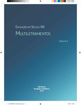 Caderno aula Fundação Telefônica -- vol.3 multiletramentos