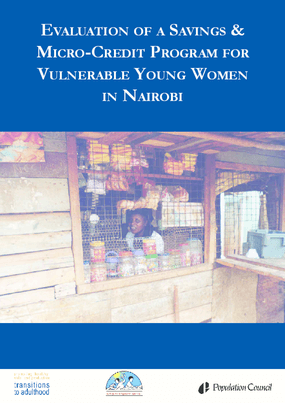 Evaluation of a Savings and Micro-Credit Program for Vulnerable Youth Women in Nairobi