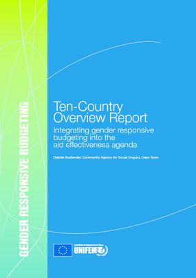 Integrating Gender Responsive Budgeting into the Aid Effectiveness Agenda: Country Summaries