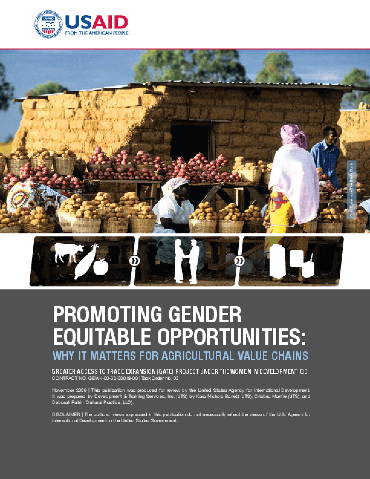 Promoting Gender Equitable Opportunities: Why It Matters for Agricultural Value Chains