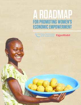 A Roadmap for Promoting Women's Economic Empowerment