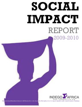 Social Impact Report 2009-2010