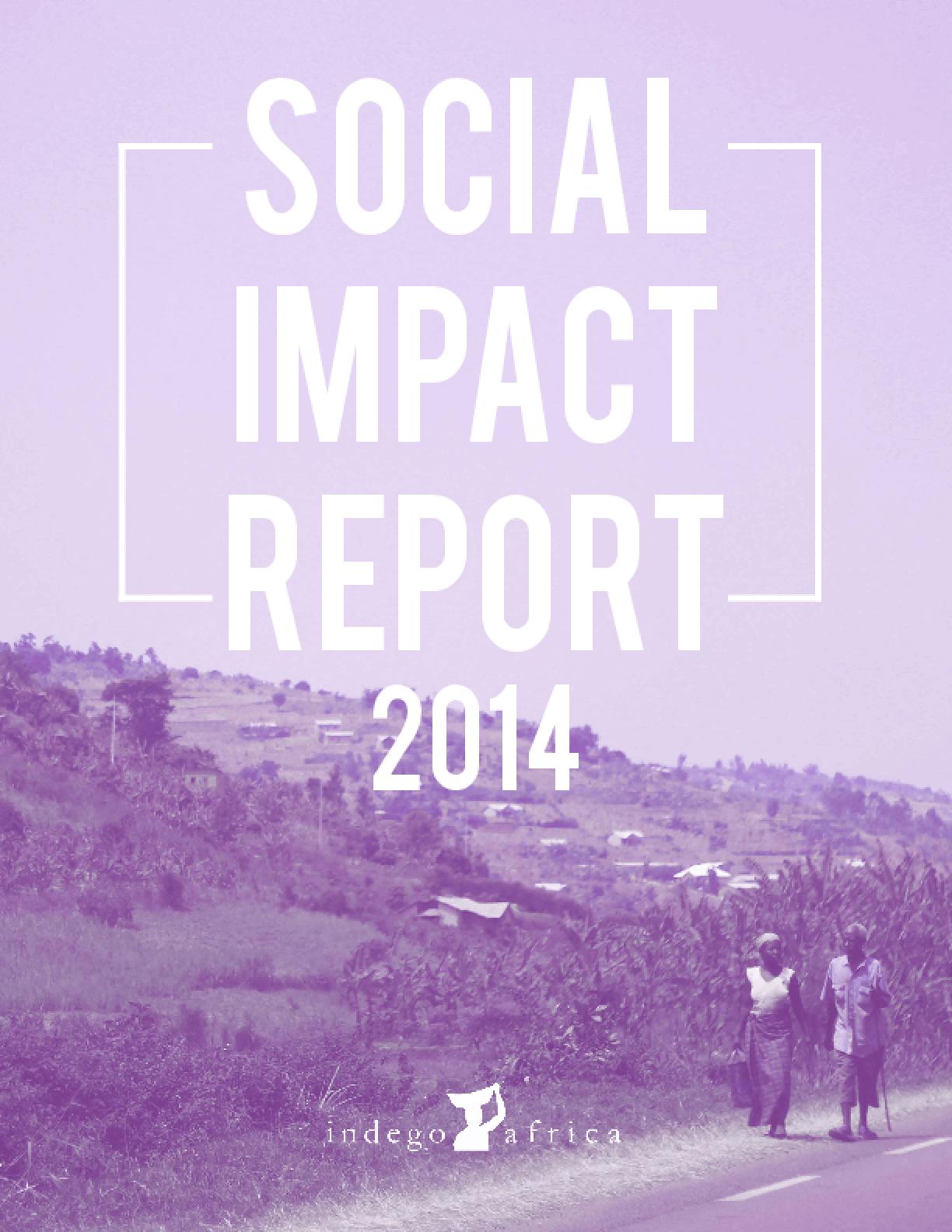 Social Impact Report 2014