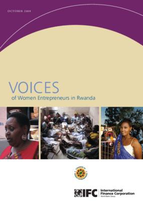 Voices of Women Entrepreneurs in Rwanda