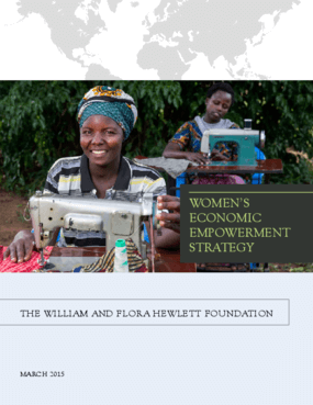 Women's Economic Empowerment Strategy