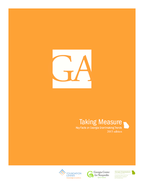 Taking Measure: Key Facts on Georgia Grantmaking Trends 2015 Edition