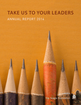 Take Us To Your Leaders: Annual Report 2014