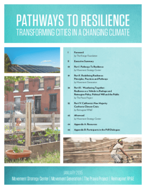 Pathways to Resilience: Transforming Cities in a Changing Climate