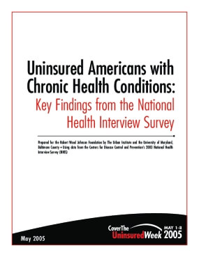 Uninsured Americans with Chronic Health Conditions