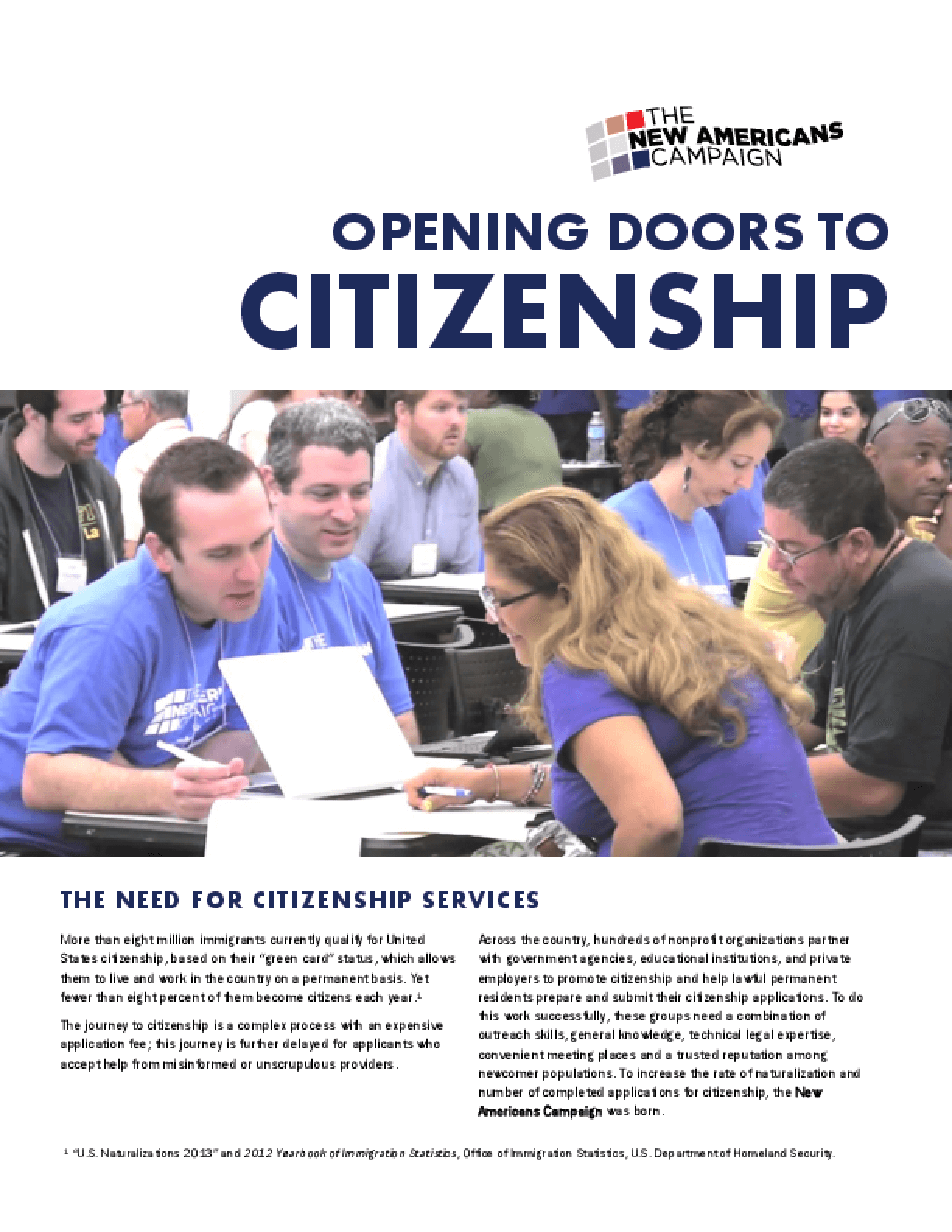 Opening Doors to Citizenship (Summary)