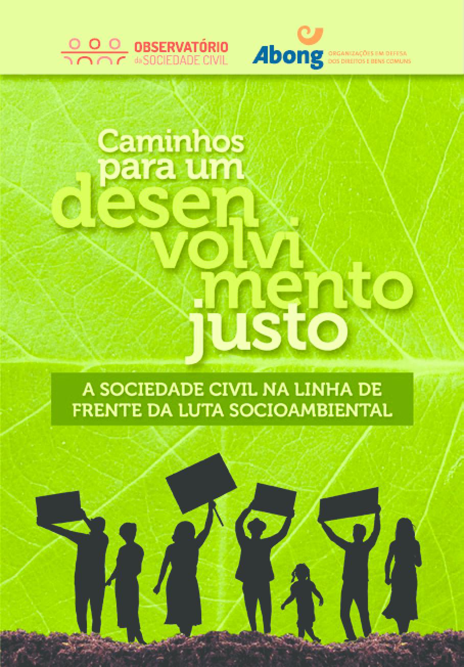 Caminhos para um desenvolvimento justo -- A sociedade civil na linha de frente da luta socioambiental