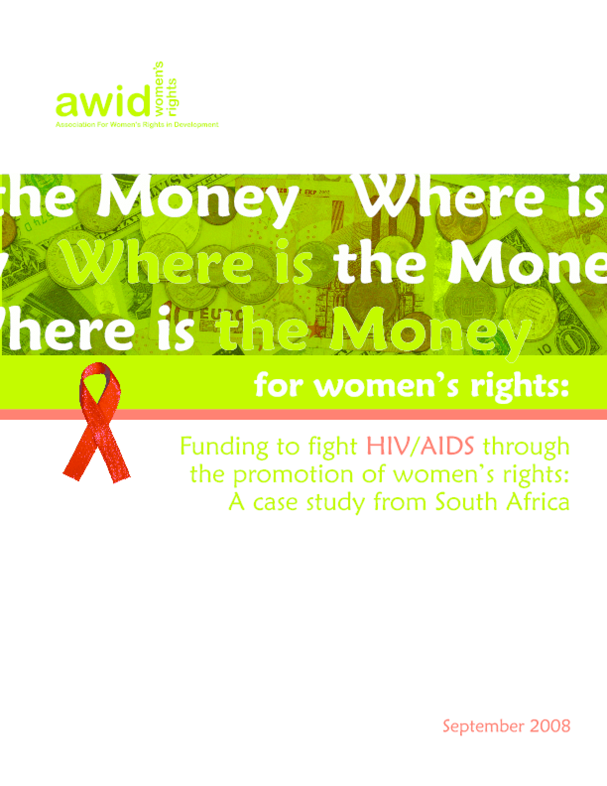 Funding to fight HIV/AIDS through the promotion of women's rights: A case study from South Africa