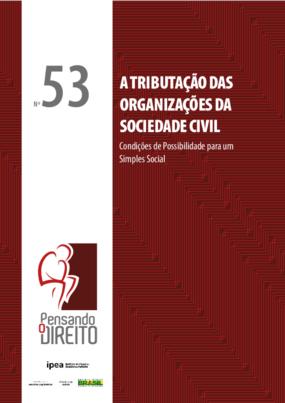 A tributação das organizações da sociedade civil - condições de possibilidade para um simples social
