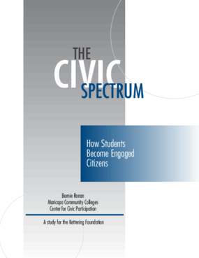 The Civic Spectrum: How Students Become Engaged Citizens