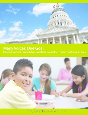 Many Voices, One Goal: How an informal foundation collaborative helping make California history