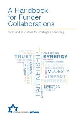 A Handbook for Funder Collaborations: Tools and Resources for Strategic Co-funding