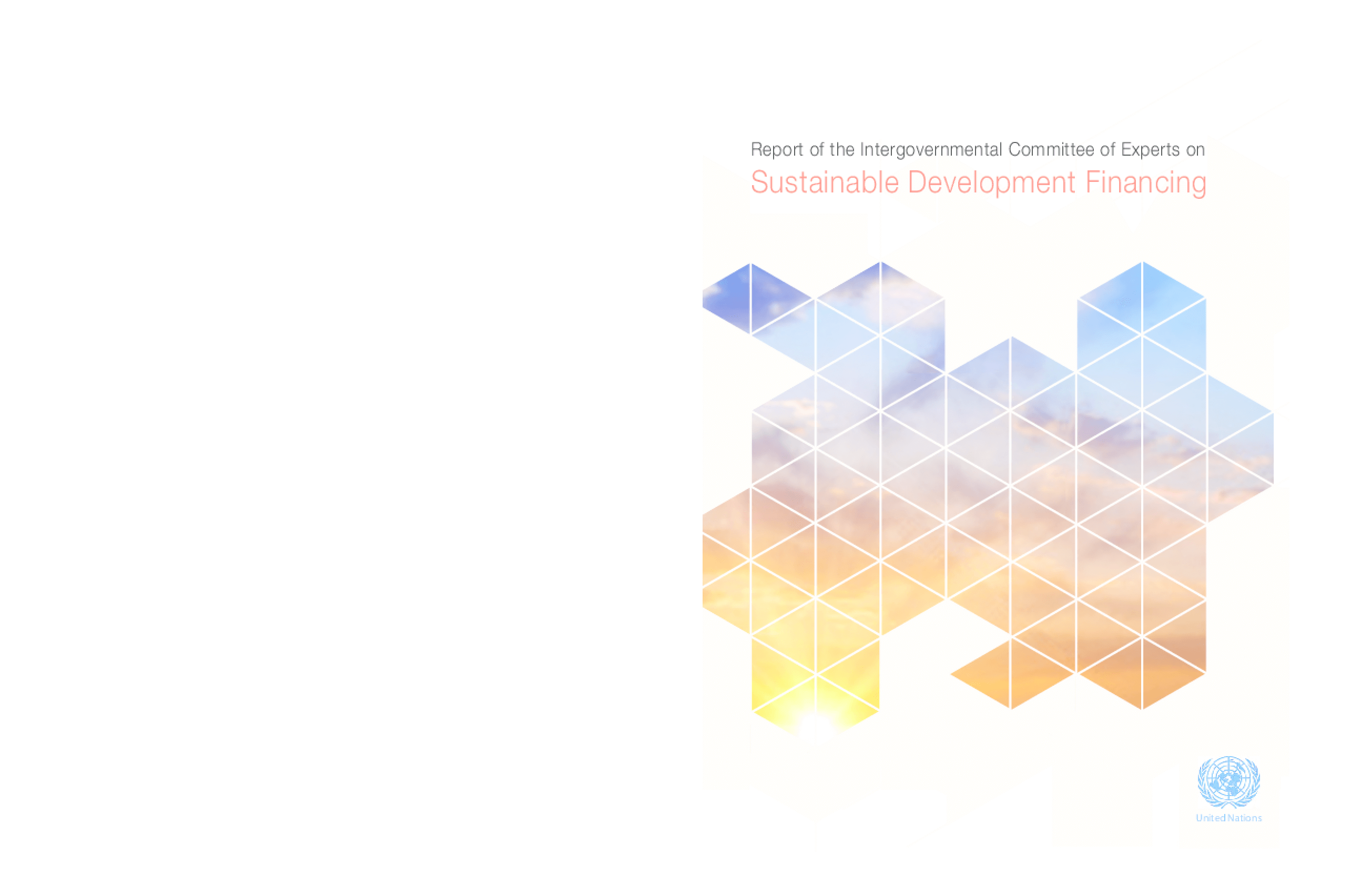 Report of the Intergovernmental Committee of Experts on Sustainable Development Financing