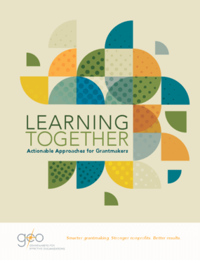 Learning Together: Actionable Approaches for Grantmakers