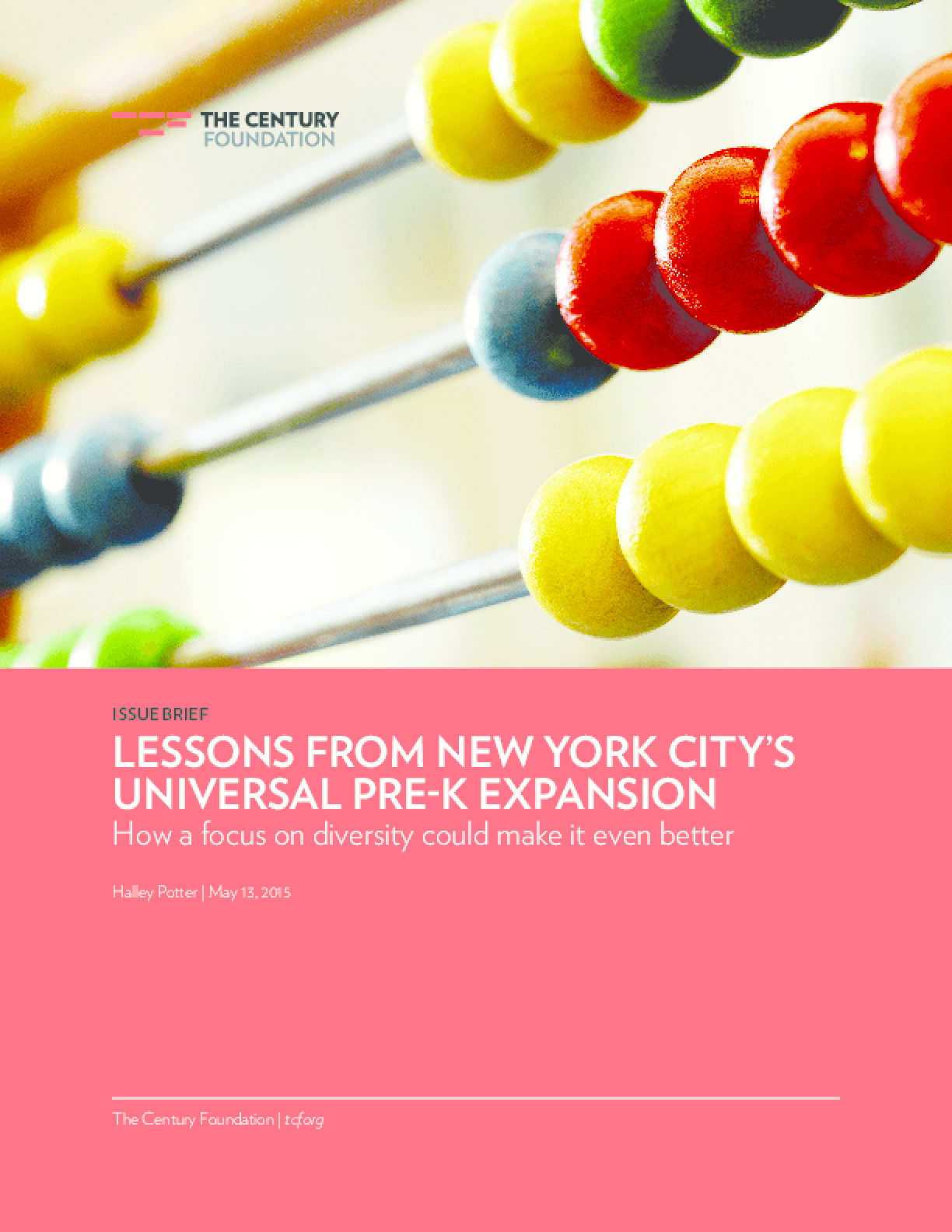 Lessons From New York City's Universal Pre-K Expansion: How a focus on diversity could make it even better