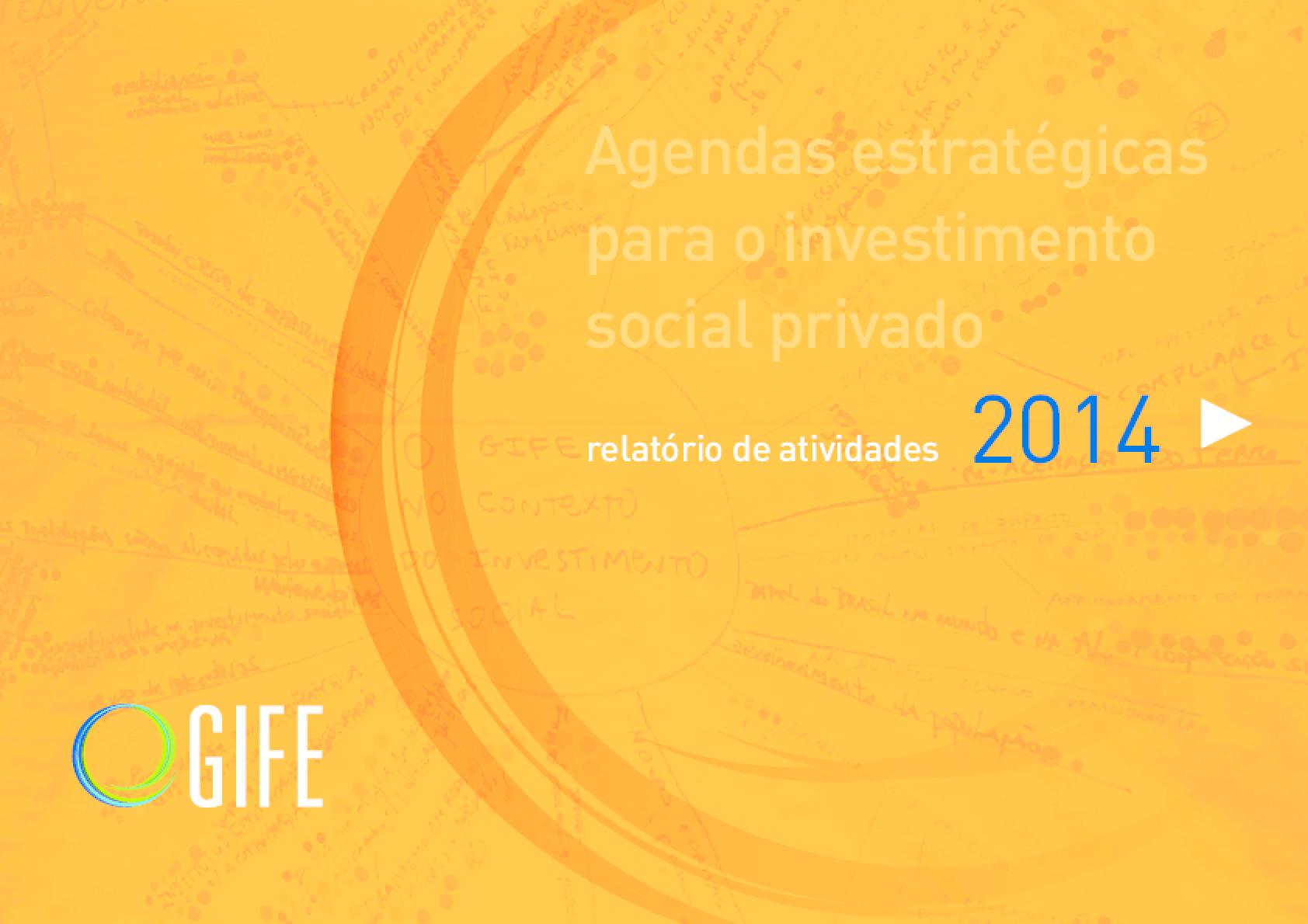 Relatório de Atividades GIFE 2014