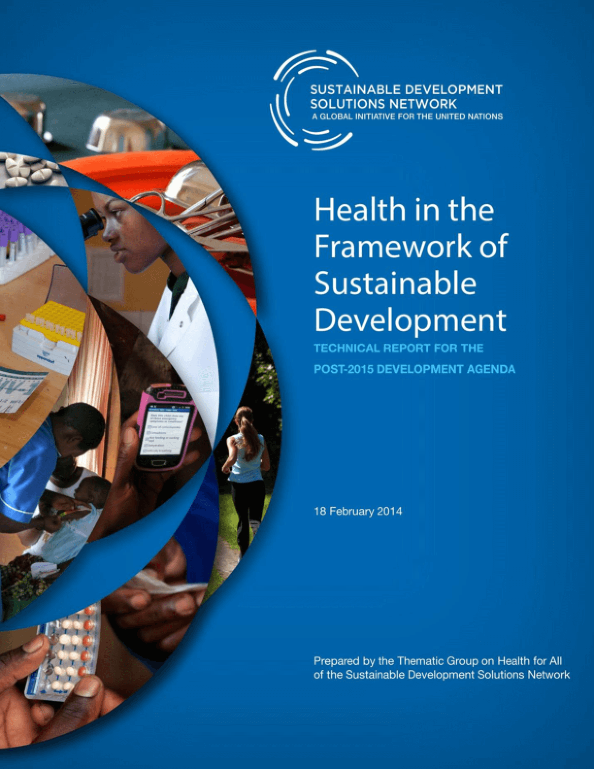 Health in the Framework of Sustainable Development: Technical Report for the Post-2015 Development Agenda