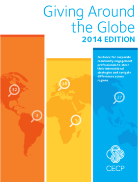 Giving Around the Globe: 2014 Edition
