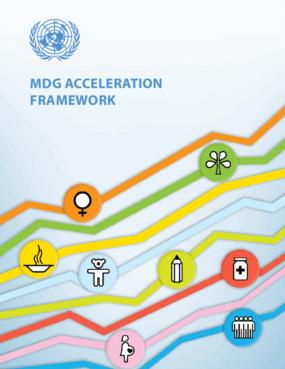 MDG Acceleration Framework