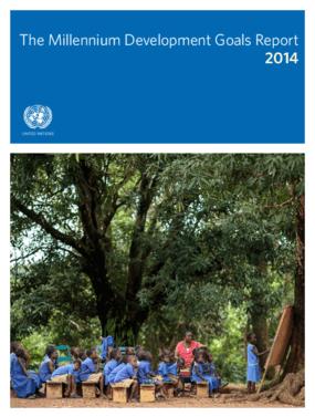 The Millennium Development Goals Report 2014