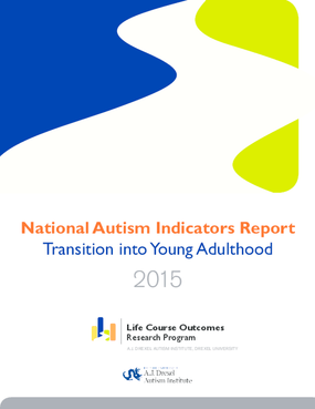 National Autism Indicators Report: Transition into Young Adulthood