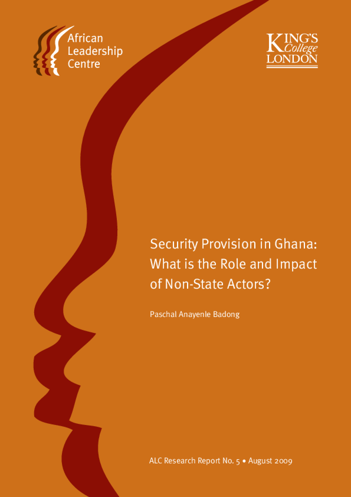 Security Provision in Ghana: What is the Role and Impact of Non-State Actors?