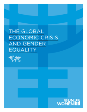 The Global Economic Crisis and Gender Equality
