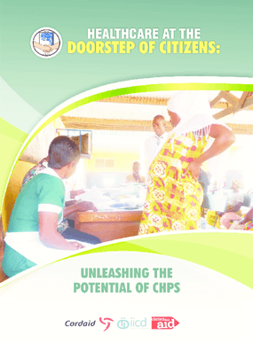 Healthcare at the doorstep of citizens: Unleashing the potential of CHPS