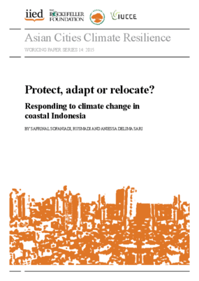 Protect, Adapt or Relocate? Responding to Climate Change in Coastal Indonesia