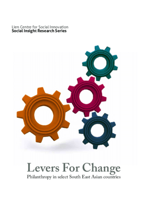 Levers for Change: Philanthropy in Select South East Asian Countries