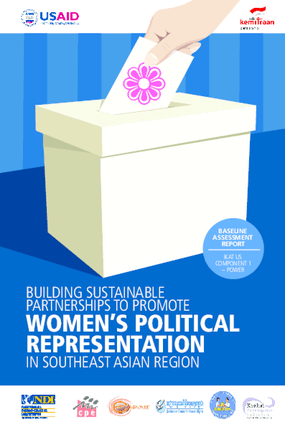 Building Sustainable Partnerships to Promote Women's Political Representation in Southeast Asian Region