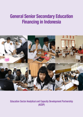 General Senior Secondary Education Financing in Indonesia
