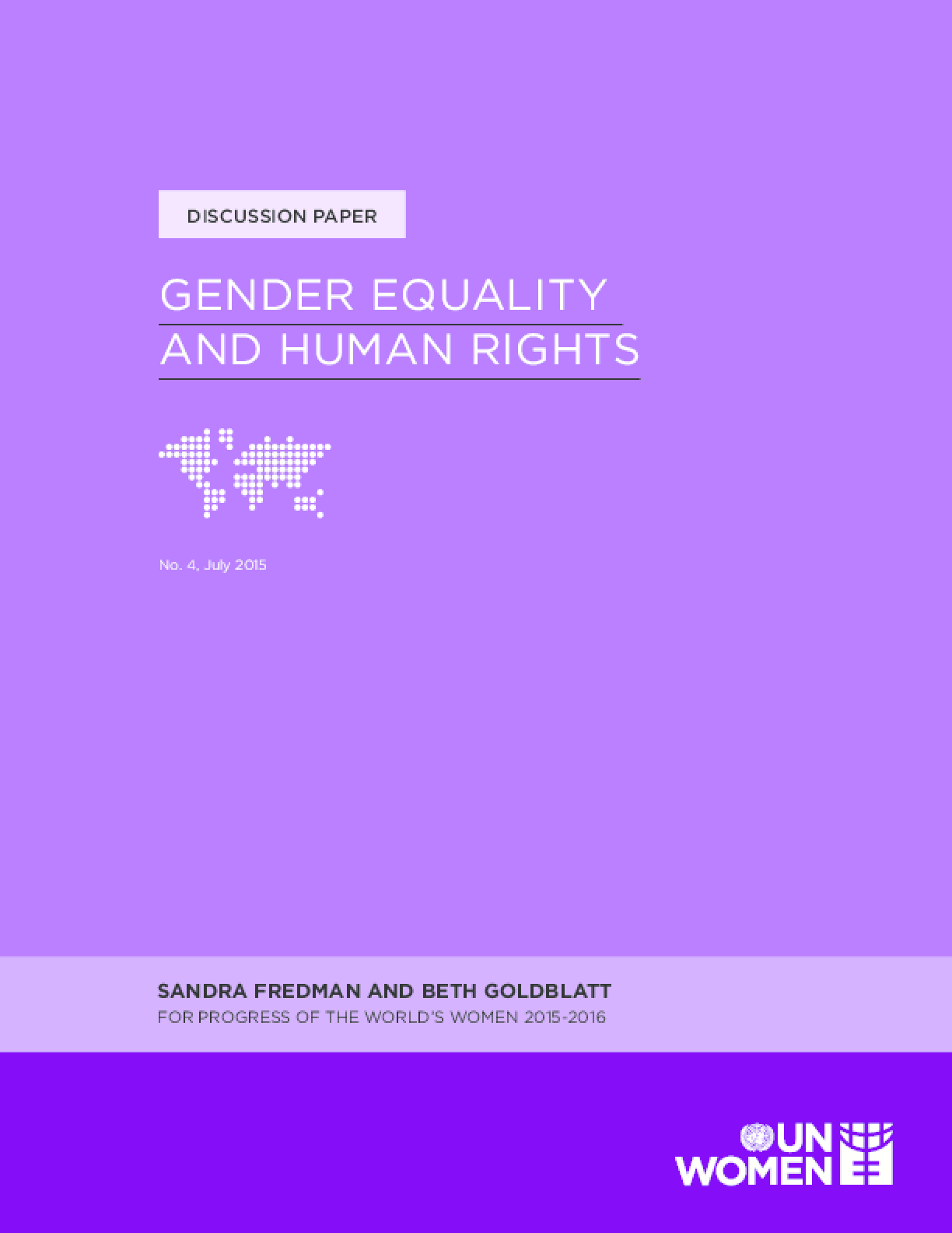 Gender Equality and Human Rights