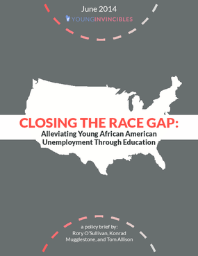 Closing the Race Gap: Alleviating Young African American Unemployment Through Education